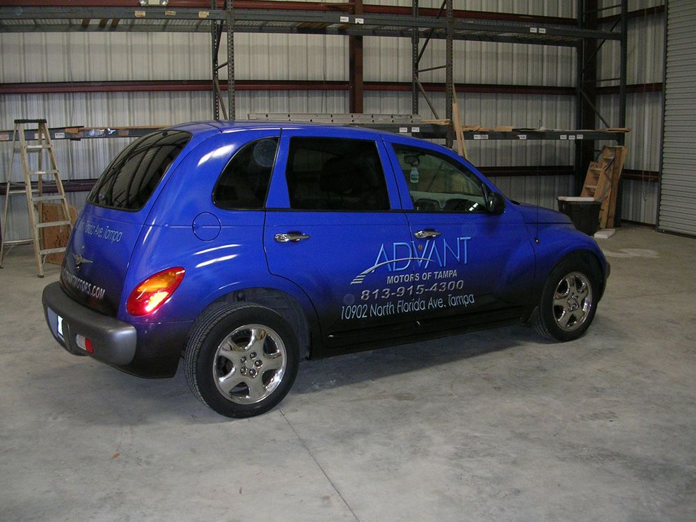 ADVANT - Car Wrap