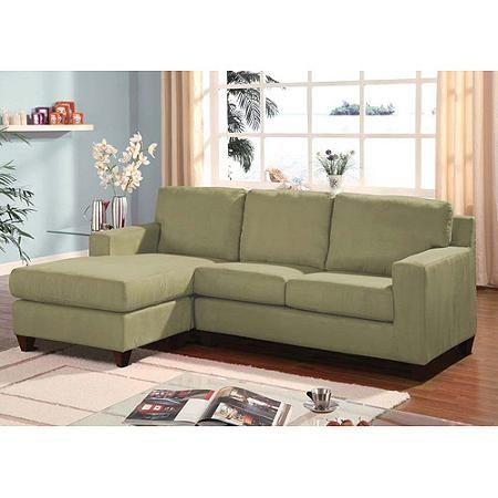 acme vogue microfiber reversible chaise sectional sofa multiple rh pinterest com