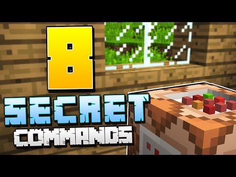 8 Secret Minecraft Commands You Need To Try 8 Things In Minecraft