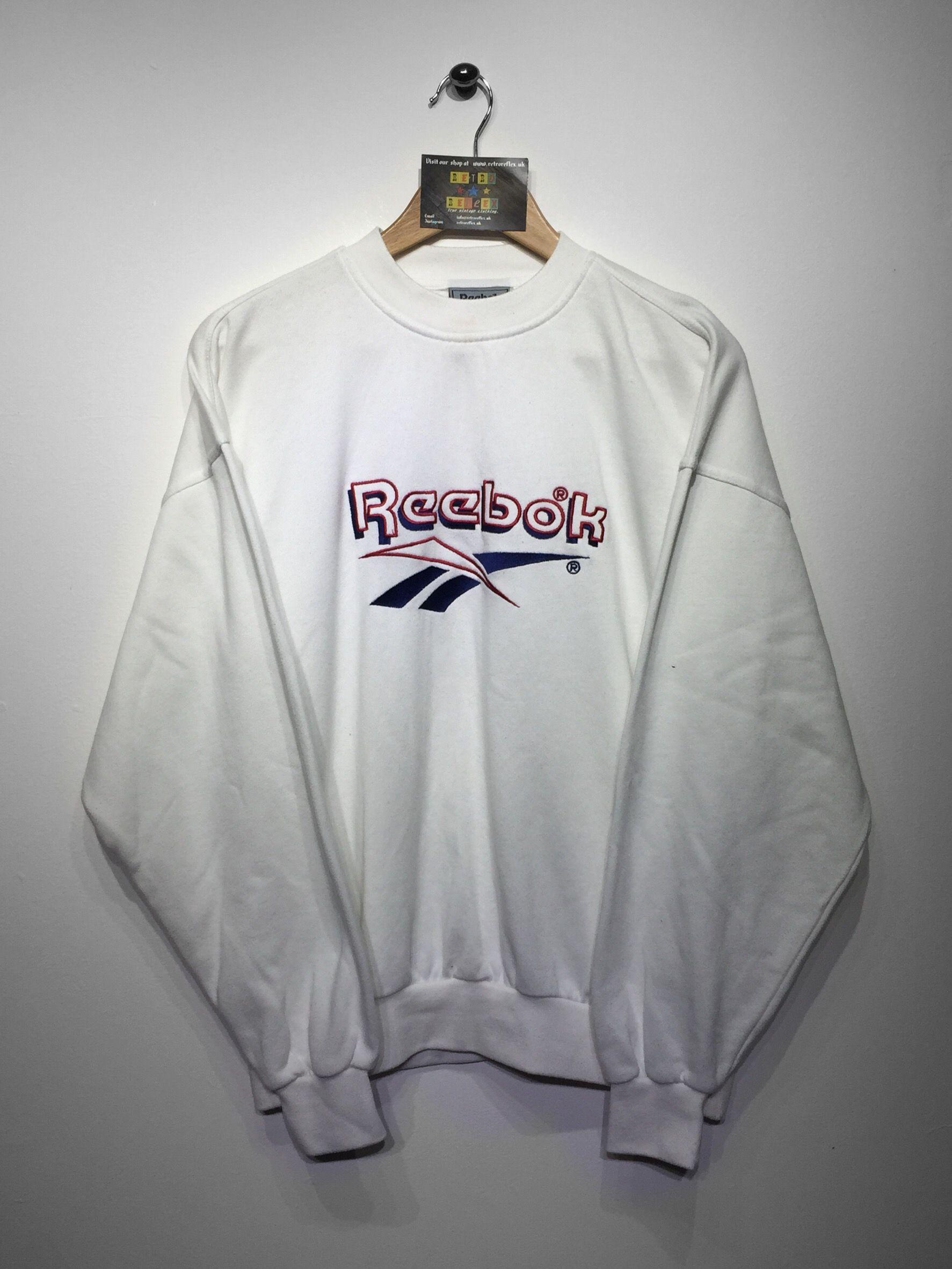 ... Retroreflexuk vintage   retro clothing. Reebok Sweatshirt size Medium  (but Fits Oversized) £34 Website➡ www. fd900bb0d