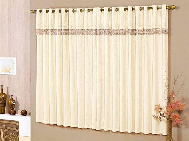 Cortinas para sala 18 modelos simples e modernas for Modelos de cortinas