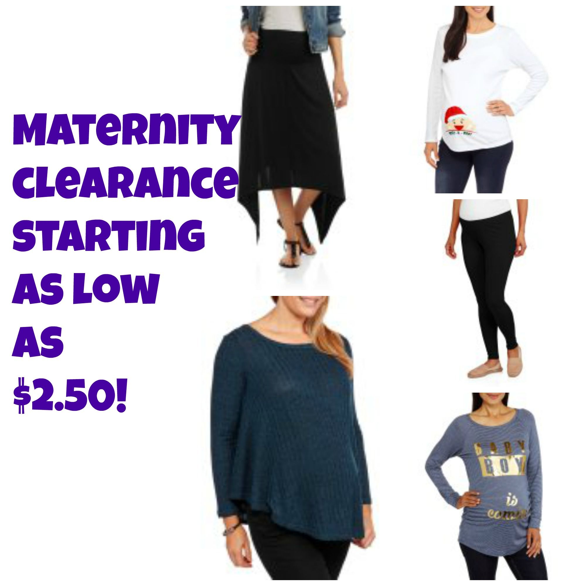 9b79804cb68d8 Maternity Clothes Clearance as low as $2.50! | Clearance Maternity ...