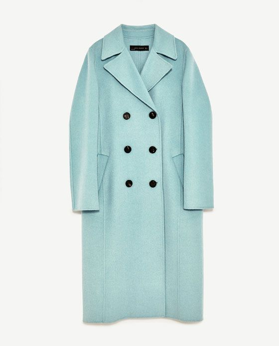 Image 8 of BUTTONED COAT from Zara