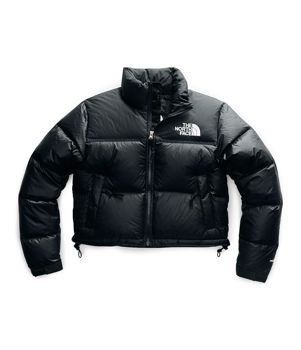 Women S Nuptse Crop Jacket The North Face North Face Puffer Jacket Crop Jacket North Face Jacket Outfit [ 1161 x 1000 Pixel ]