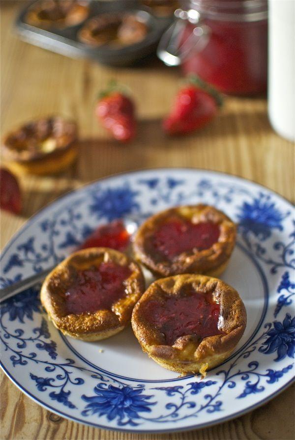 Recetas de 'Tortitas dulces con fresas' de Pepekitchen para el blog 'A tu Gusto' de superSol. La mejor gastronomía :)