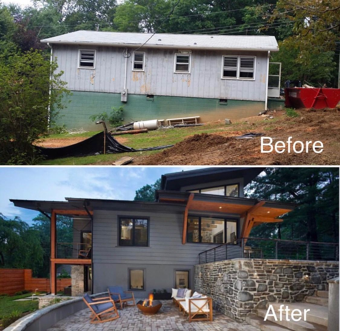 Pin By Kate Dart On Miscellaneous Things House Makeovers Home Exterior Makeover Home Renovation