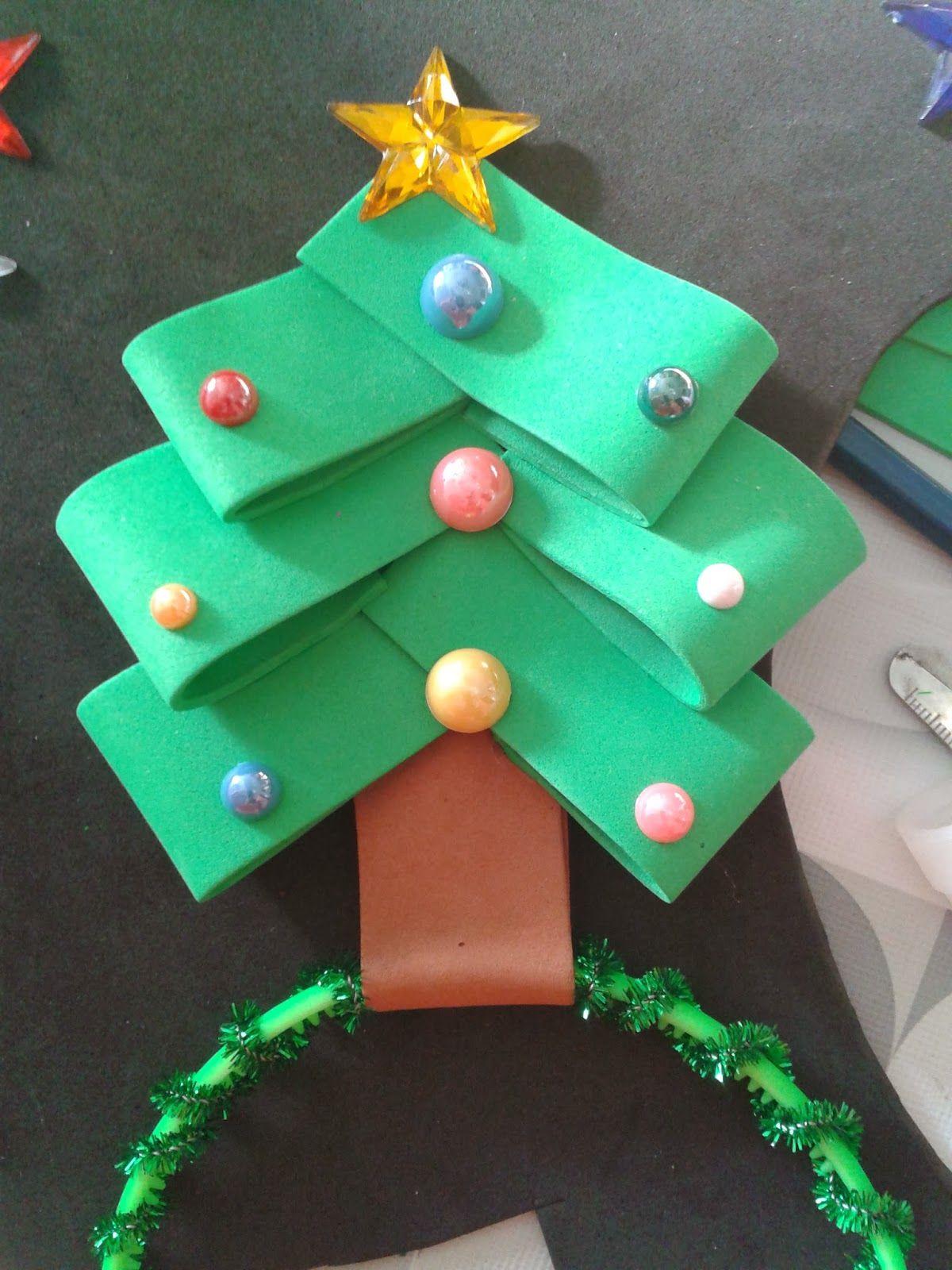 Paso A Paso Diadema Navidad Disfraz Navidad Manualidades