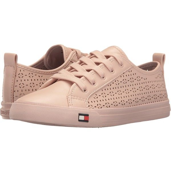 Tommy Hilfiger Lanibel 2 (Blush) Women's Shoes ($35) ❤ liked on Polyvore