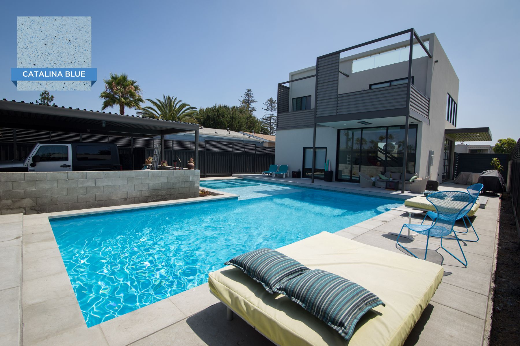there s no better finish to take advantage of the incredible san diego weather than hydrazzo catalina blue pool by swimming pool pictures pool pool picture swimming pool