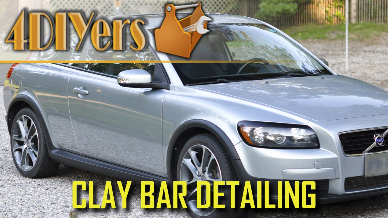 Video tutorial on how to clay bar your vehicle's paint. So