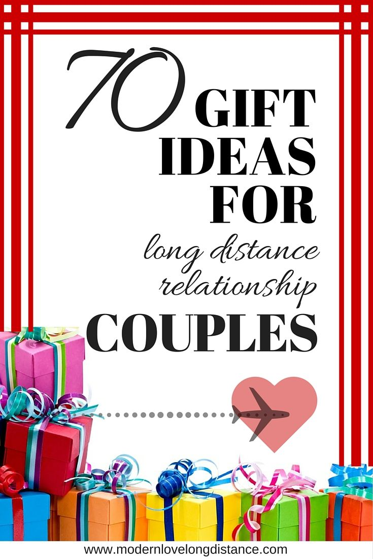 Long distance dating gift ideas
