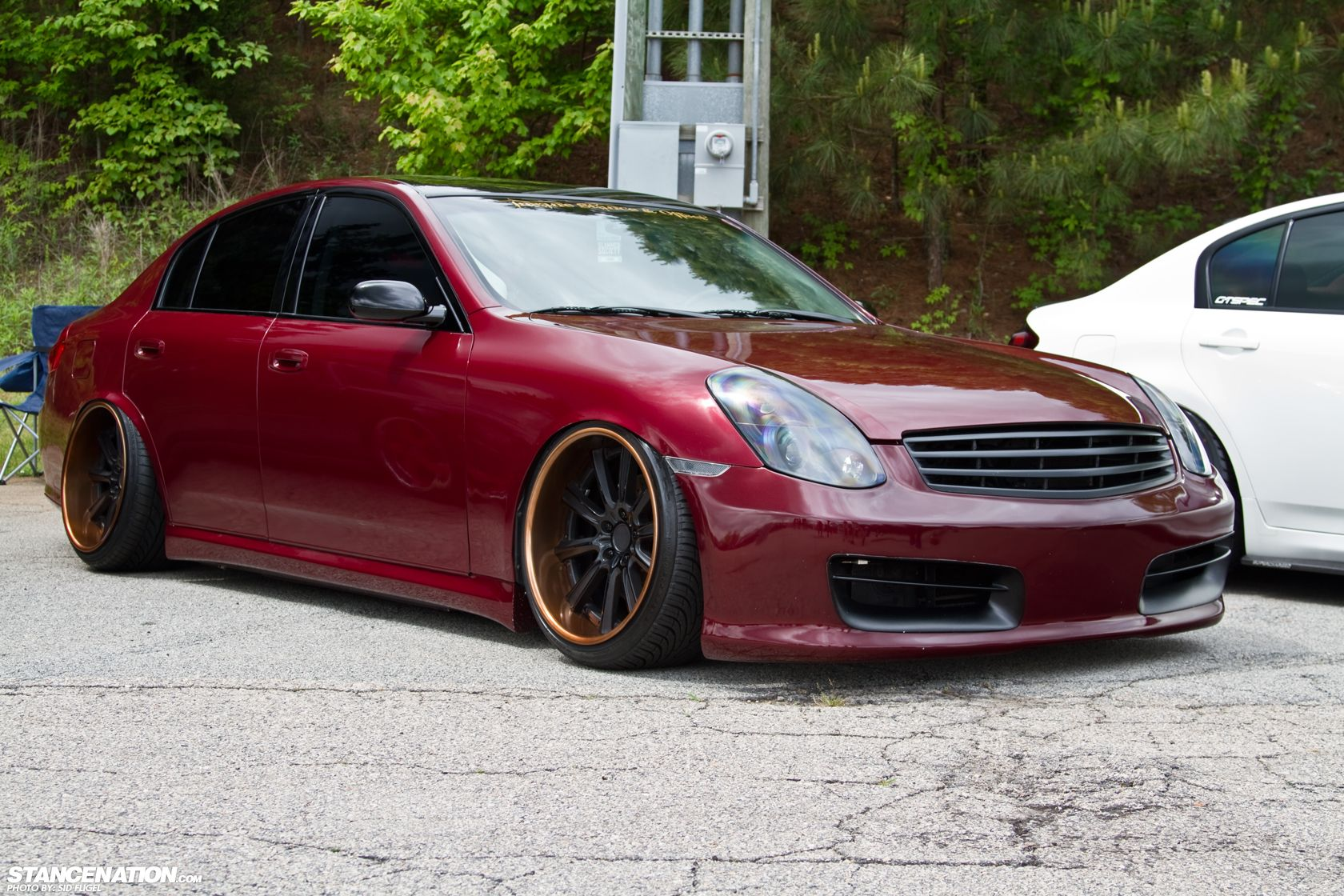Slammed Society Atlanta // Photo Coverage    Chill Rides   Nissan