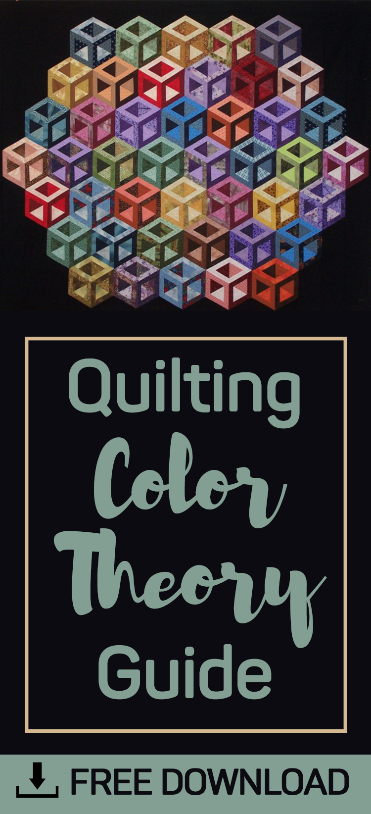 In this guide, you will learn the basic principles of color theory and how to practically apply them to your own quilt work. This guide offers easy-to-follow tips that will help you select colors that are well balanced and pleasing to the eye.