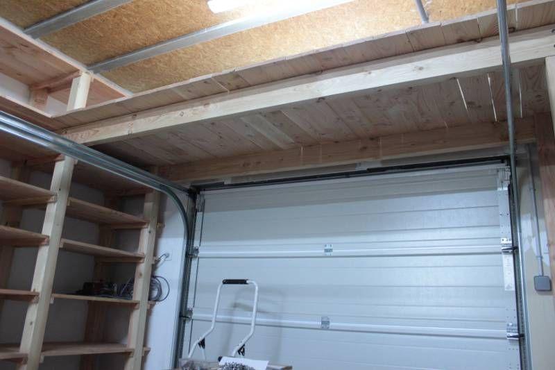 Étagère Au Dessus Porte De Garage | Garage | Pinterest | Portes De