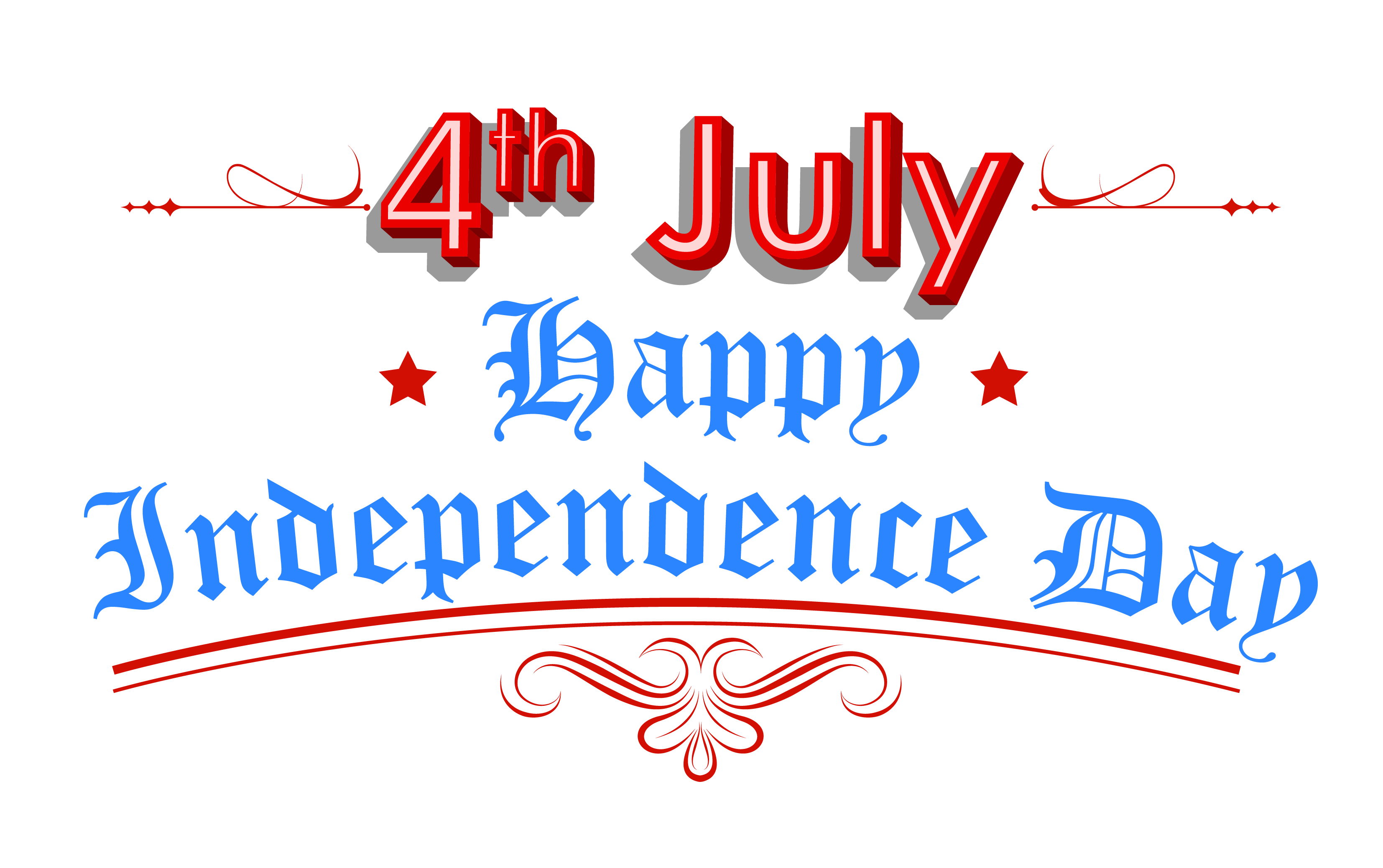 Happy Independence Day 4th July Clipart | July 4th Clip Art ...