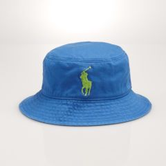841a6589073 Boy s big pony cotton bucket hat by Ralph Lauren  29.50