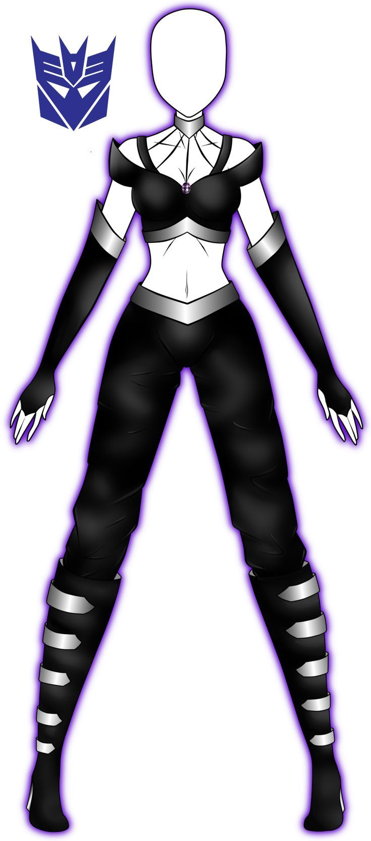 Old outfit revamp. by 2050.deviantart.com on @DeviantArt