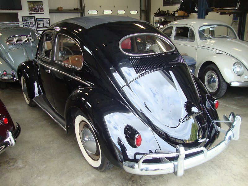 Classic Vw Bugs 1954 Ragtop Oval Window Show Beetle Sold Beetle Oval Window Vw Bug