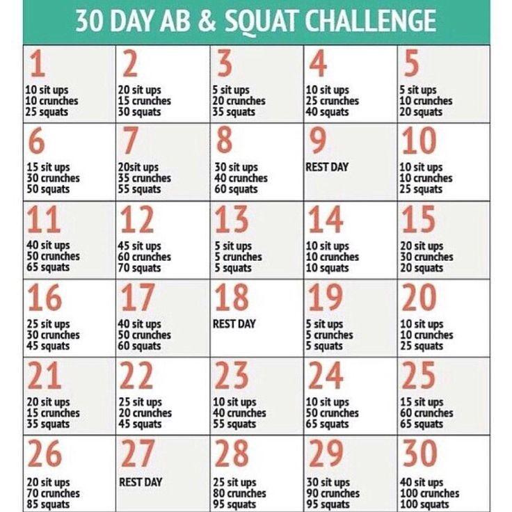Bauch Beine Po Challenge - 30 Tage zum Sixpack, ABs, Booty & Quads - fit-weltweit.de