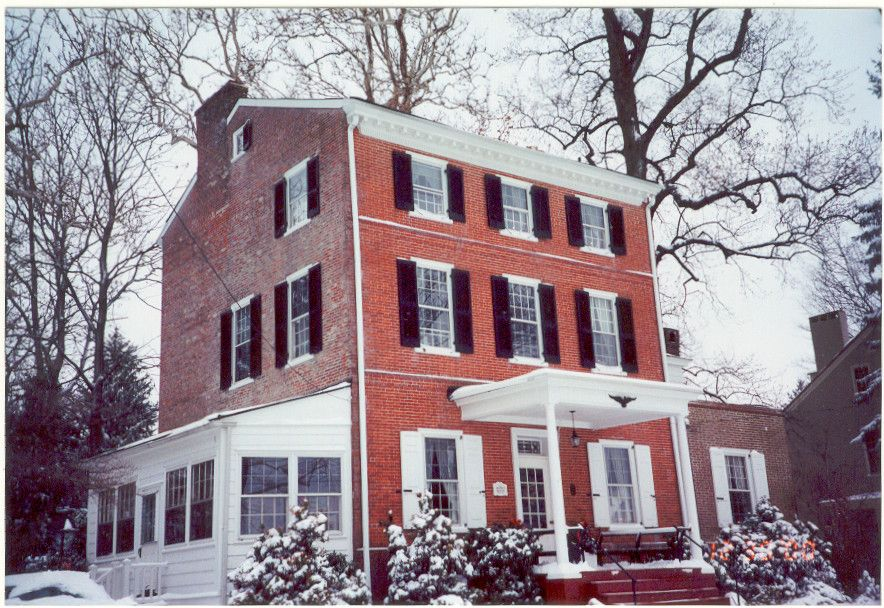 Historic Peggy Shippen House By Lordnegaduck Pretty House