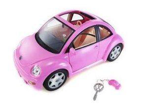 Barbie Volkswagen New Beetle In Pink Vw