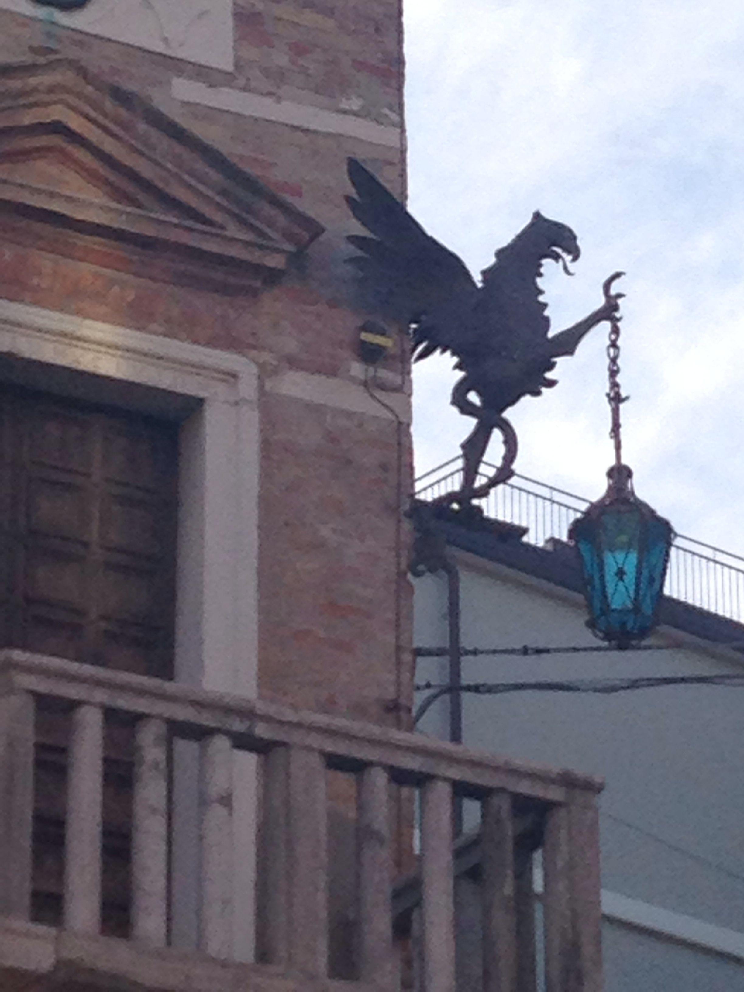 Street light in Mestre Italy