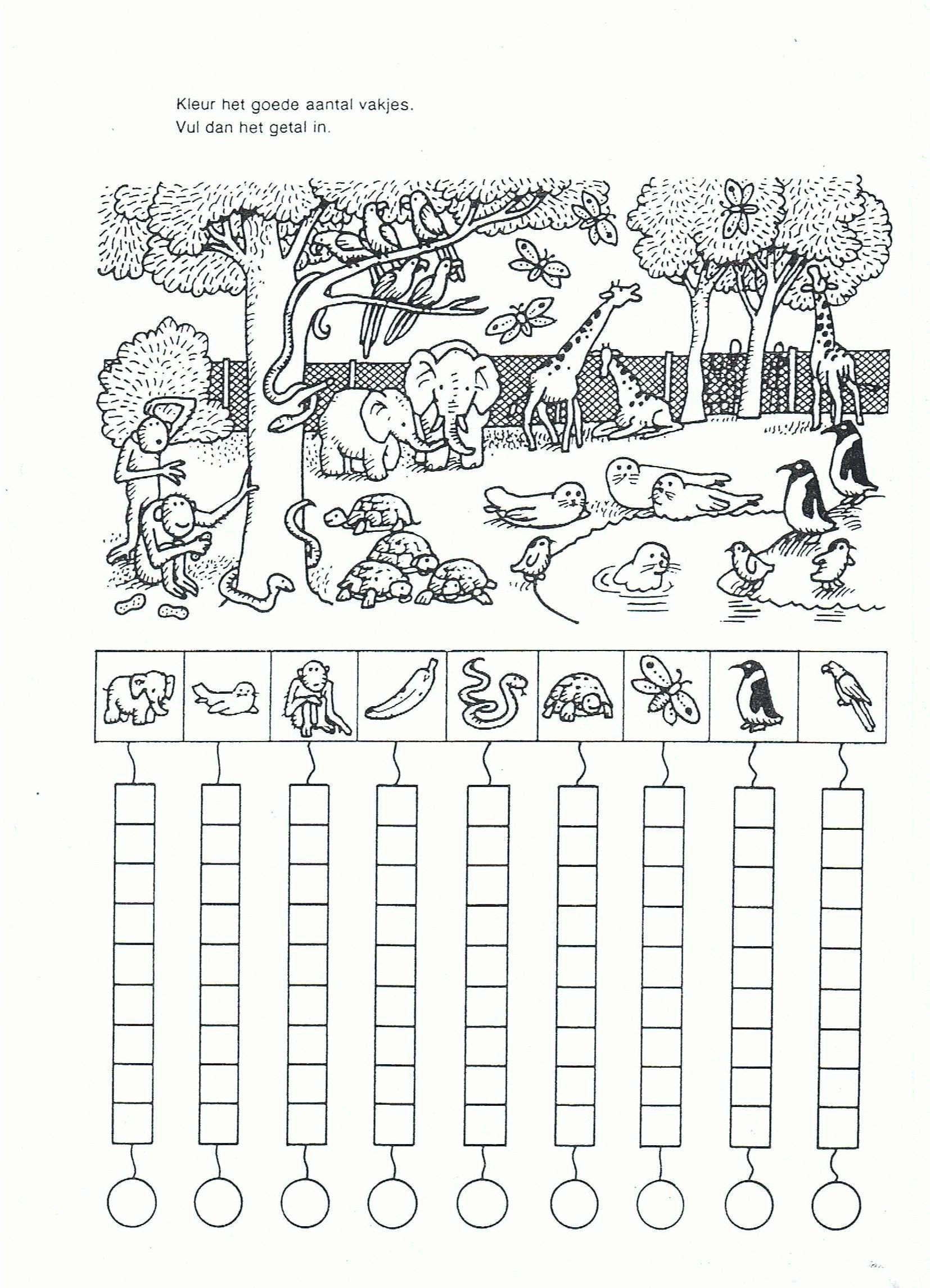 Coloring Pages Kindergarten Worksheets Di