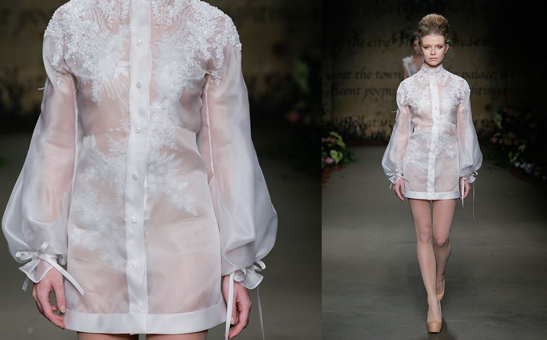 ''Fools Paradise'' by Edwin Oudshoorn. This dress has such a romantic feel to it! Love it!