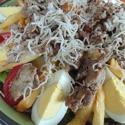 Steak 'n' Fries Salad Allrecipes.com #MyAllrecipes #AllrecipesAllstars #AllrecipesFaceless