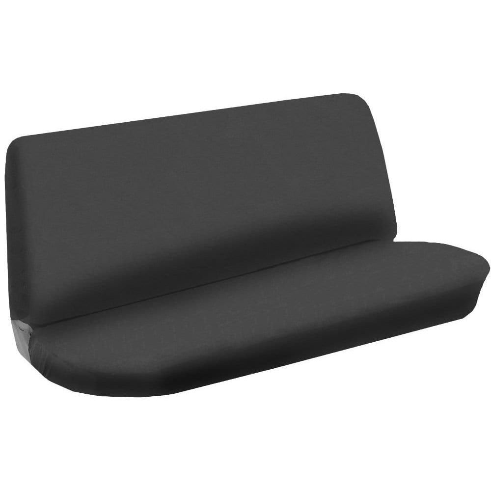 Unique Bench Seat Cover Flat Solid Gray 2pc Cloth Grey For Chevy Cobalt Blue