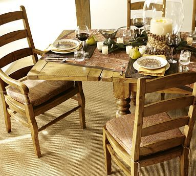 Sumner Dining Table & Wynn Chair Set  *tables  Table & Chair Mesmerizing Dining Room Sets Pottery Barn Decorating Design