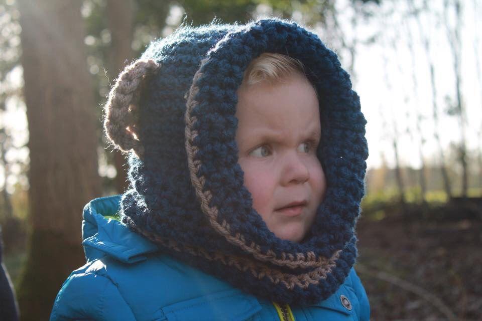 Stoere berenmuts voor kleinzoon Samuël