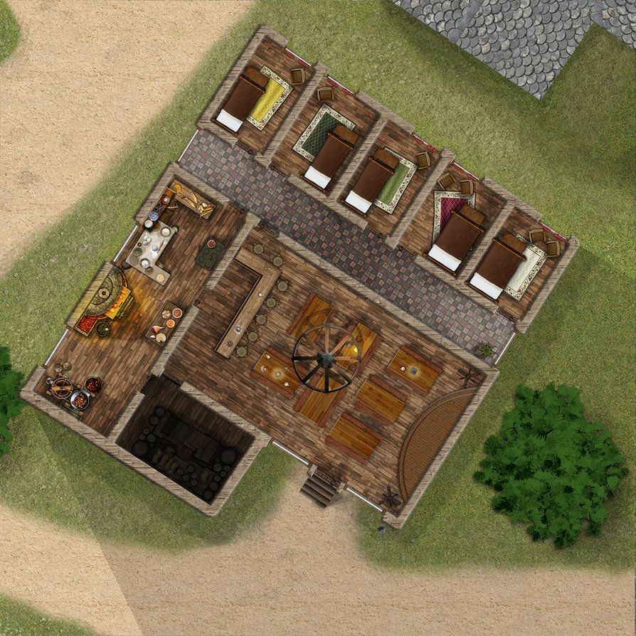 Stonehill Inn Featured In The Lost Mines Of Phandelver D D