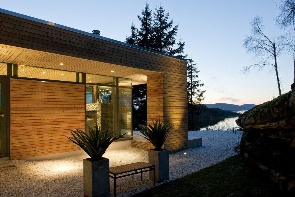 Tiny Modern Cabin Plans | Modern Cabin GJ-9 in Bjergøy, Norway by Gudmundur Jonsson ...