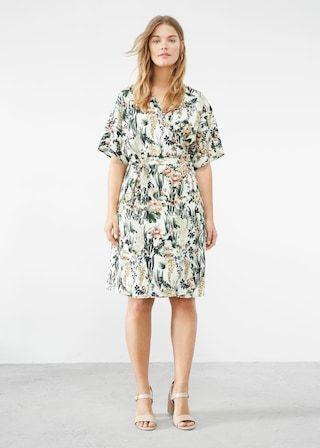 2b2218551b11 Floral wrap dress - Plus sizes