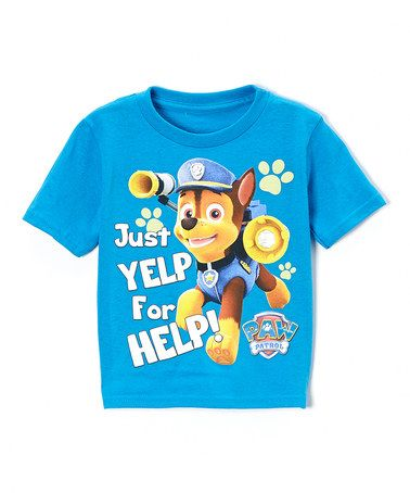 This Turquoise 'Yelp for Help' Tee - Toddler is perfect! #zulilyfinds