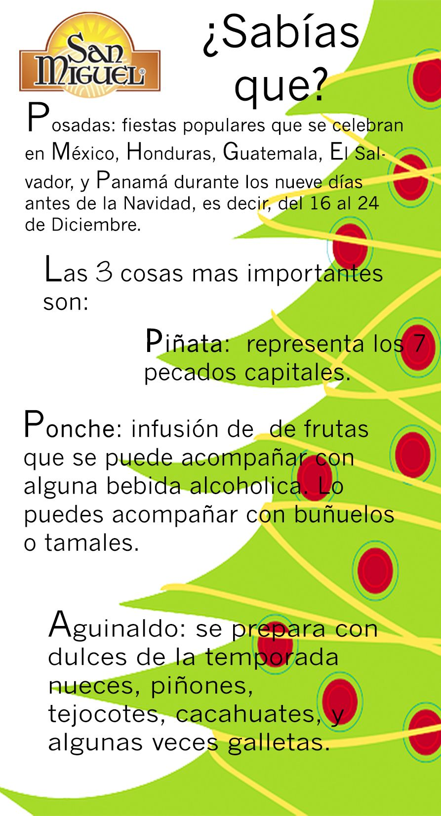 Workbooks las posadas worksheets : Significado de las posadas, ponche, piñata y aguinaldo información ...