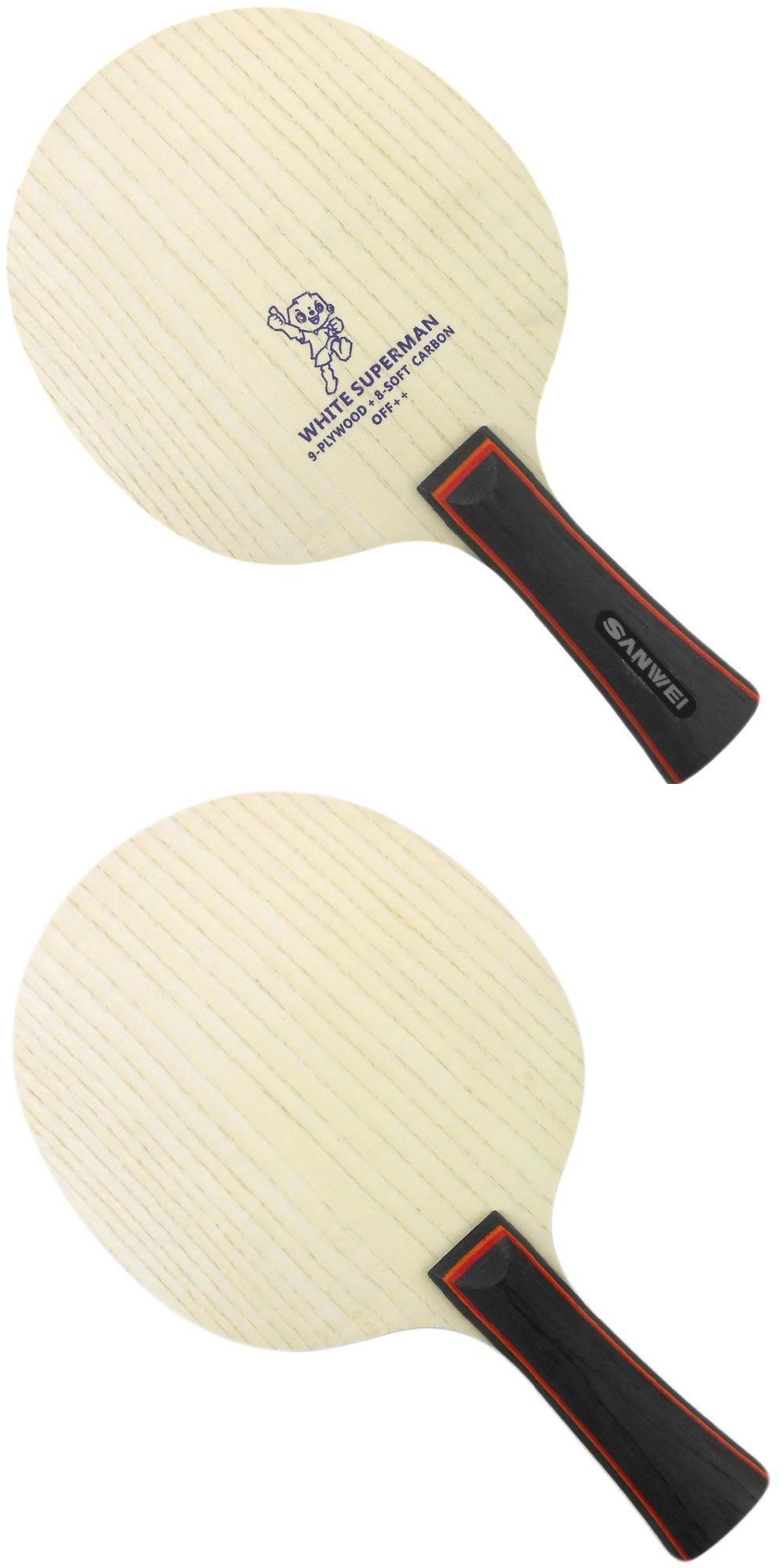 Visit To Buy Sanwei B2 White Superman B 2 B 2 Table Tennis Pingpong Blade Advertisement Table Tennis Table Tennis Racket Ping Pong