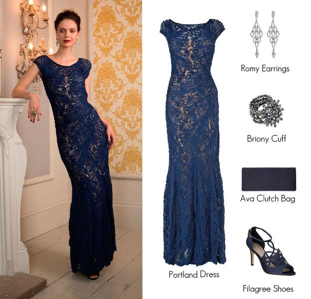 Attire dresses for black tie weddings