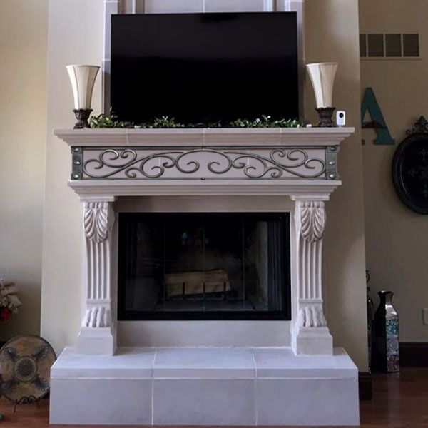 Nottingham Cast Stone Fireplace Mantel In 2019 Fireplaces