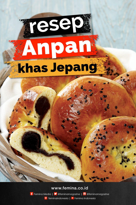 Resep Anpan Jepang Resep Roti Ide Makanan Resep Masakan Asia