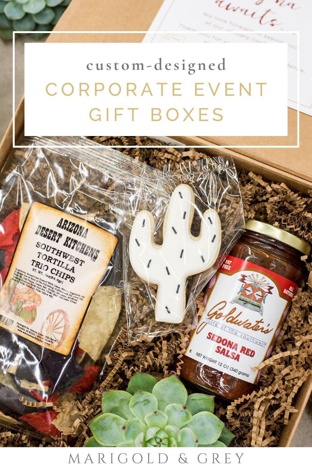 Arizona inspired corporate event gift boxes event gifts