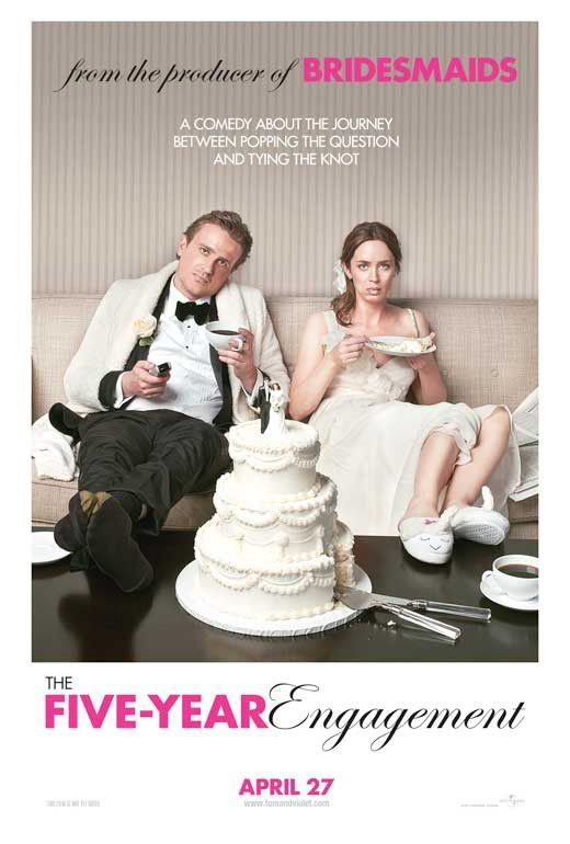 The Five-Year Engagement 27x40 Movie Poster (2012)