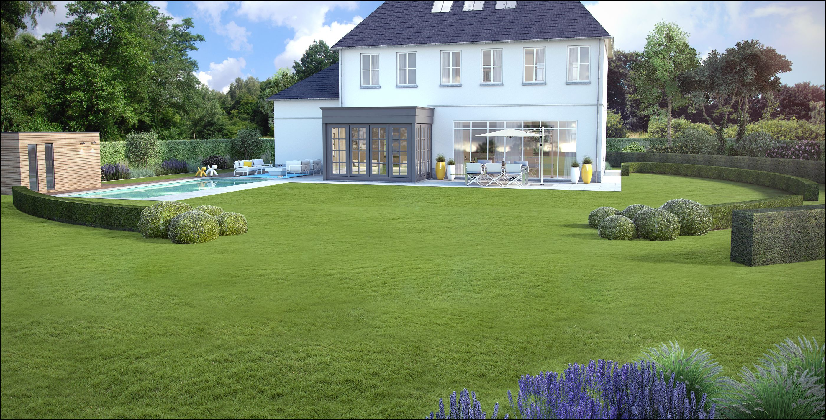 Garden landscaping tuin tuinontwerp archviz for 3d tuinarchitect