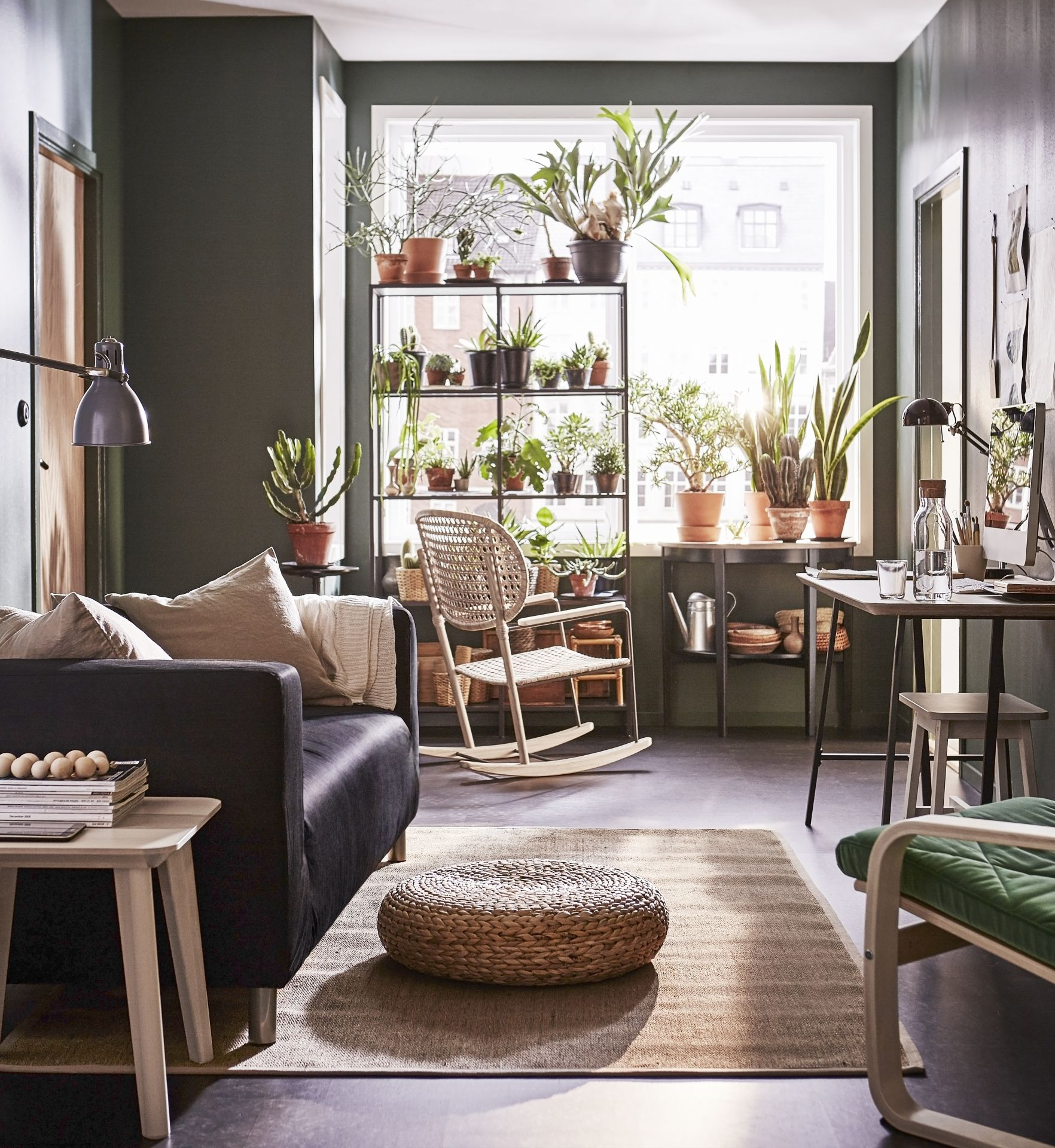 KLIPPAN 2-zitsbank, Vissle grijs | Decorar mi casa, Ideas para y Ideas