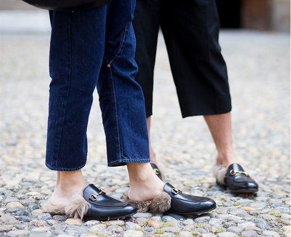 Everyone's Wearing: Gucci Fur Slides