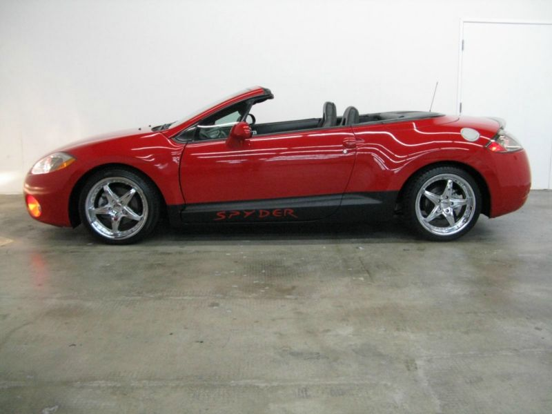 2007 mitsubishi eclipse gs spyder convertible 2d with custom lambo 2007 mitsubishi eclipse gs spyder convertible 2d with custom lambo doors palace auto center sciox Gallery