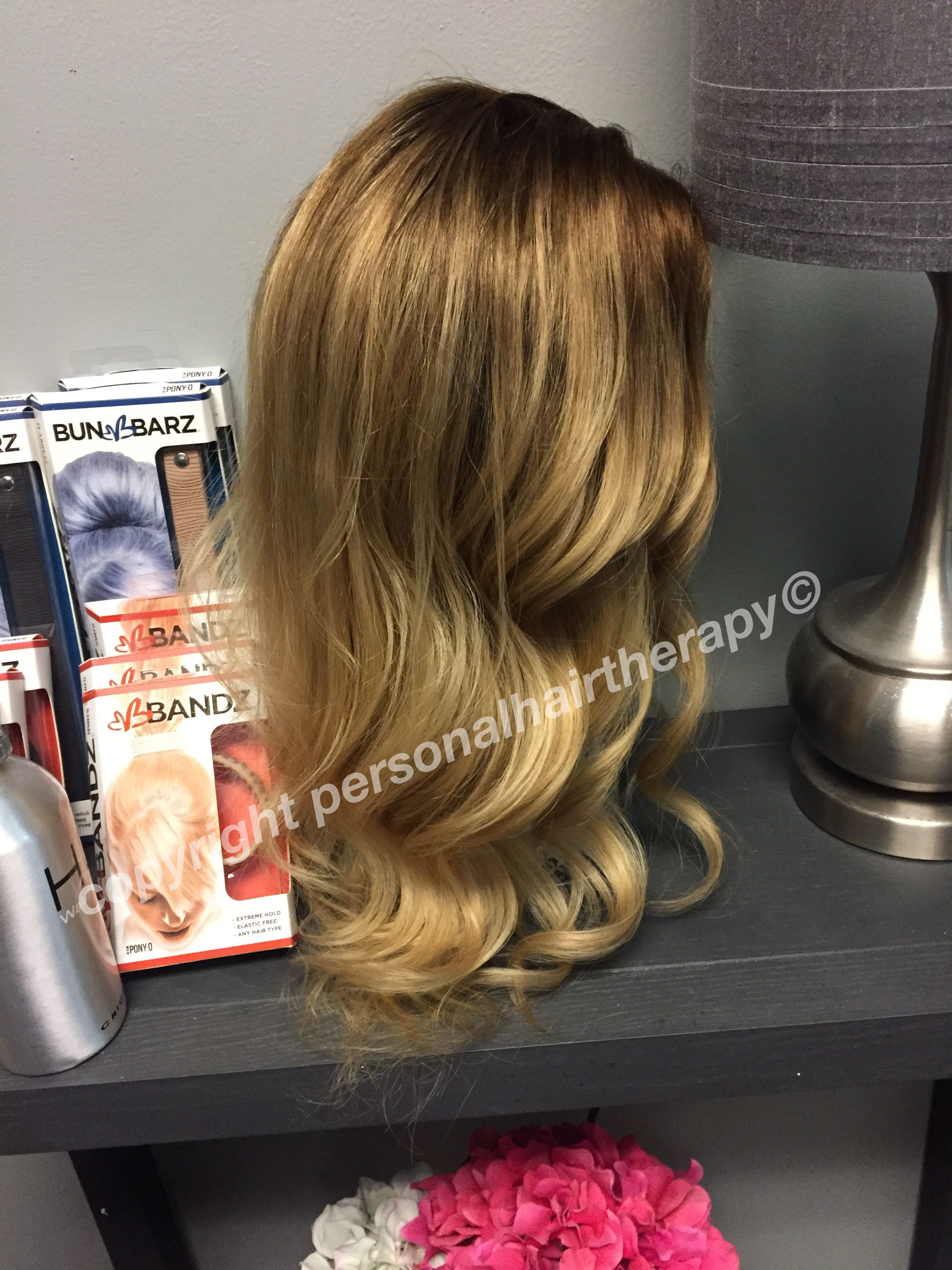 bronde, anyone?? natural looking thinning hair solutions. wigs