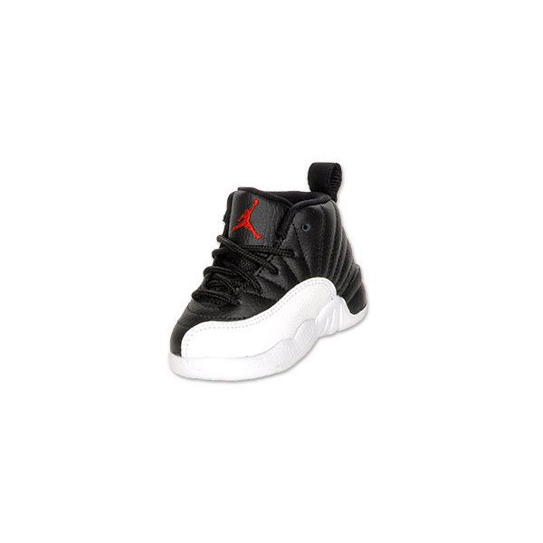 c7560846ffc Air Jordan Retro 12 Toddler Basketball Shoes ($36) ❤ liked on Polyvore  featuring baby, baby clothes, shoes, baby stuff and kids