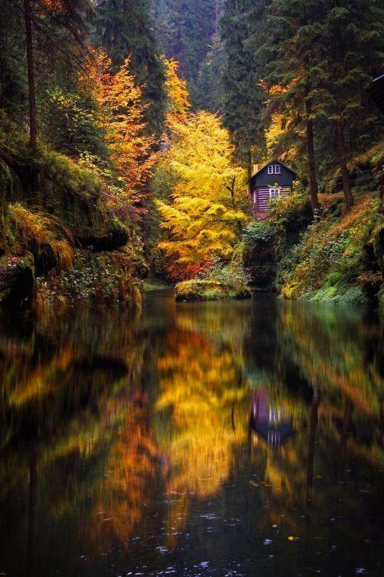Mystical Beautiful Landscapes Landscape Nature